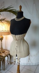 2 antique corset 1904