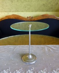 antique glass display stand 1900