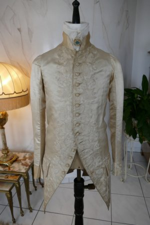 antique rococo wedding coat 1740
