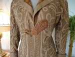3b antique battenburg lace coat 1906