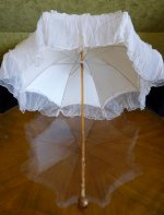 6 antique victorian parasol 1890