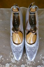 2 antique Breitsprecher shoes 1919