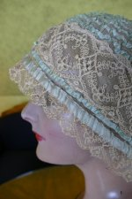 8 antique boudoir Bonnet 1920