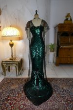 43 antique evening dress 1912