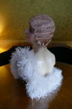 25 antique hair cloche 1920