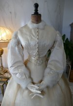 4 antique wedding dress 1876