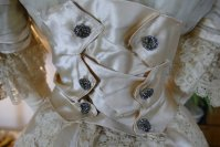 25 antique ball gown 1900