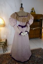 4 antique Altman ball gown 1894