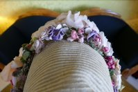 16 antique bonnet 1860