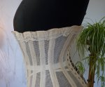24 antique summer corset 1890