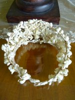 20 antique wax tiara 1912