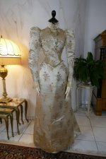 39antique dress Maison Lipmann 1896