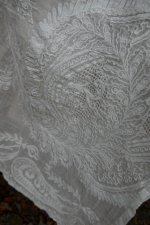 12 antique muselin shawl 1860