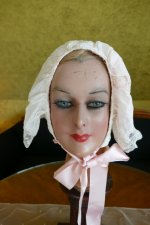 1 antique boudoir bonnet 1910