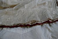 35 antique LEROUX Ball gown 1890