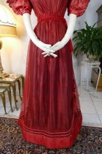 12 antique gauze dress 1828