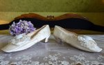 10 antique wedding shoes 1855