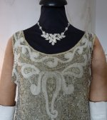 11a antique flapper dress 1925