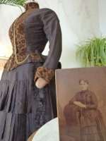 45 antique gown 1880