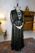 2 antique evening dress 1915