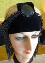 25 antique flapper headpice 1920