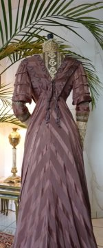 36 antique art nouveau dress