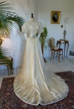 37 antique ball gown 1903