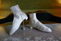 12 antique wedding Boots 1860