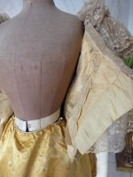 102 antique ball gown 1895