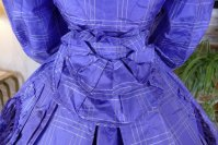 16 antique crinoline dress 1860