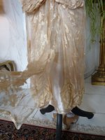 34 antique wedding gown 1923