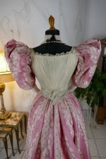 21 antique ball gown 1895