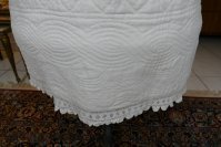 13 antique Biedermeier Petticoat 1840