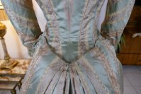 45 antique dress Bondeaux sisters 1889