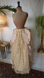 101 antique Ball gown 1880