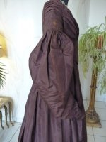 13 antique romantic period gown 1837