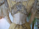 35 antique evening gown Duval Eagan 1889