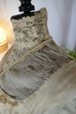 201 antique ball gown 1900