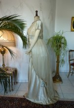 11 antique WORTH Evening Gown 1906