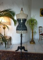 2 antique corset 1895