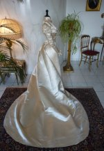 16 antique ROUFF Wedding Dress 1896