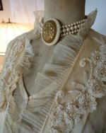 19 antique wedding gown