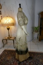 32 antique evening dress 1912
