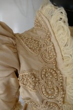 5 antique silk jacket 1895