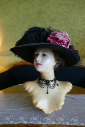 antique wax mannequin 1910