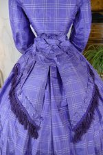 17 antique crinoline dress 1860