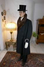 12 antique mens coat Herman Hoffmann 1925