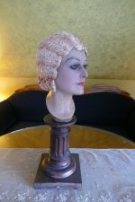 13 antique hair cloche 1920