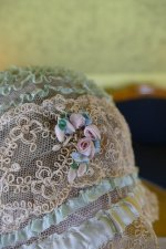 14 antique boudoir Bonnet 1920