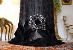 6 antique evening dress